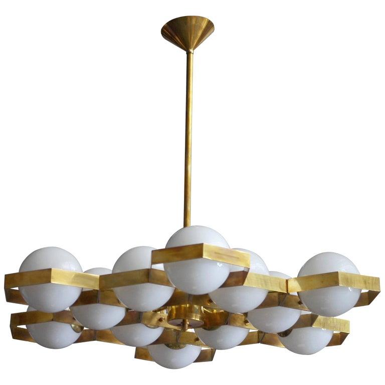 Honeycomb Kronleuchter von Fabio Ltd 1
