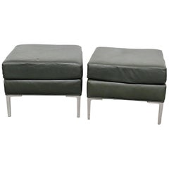 Pair of Mid-Century Modern Footstools