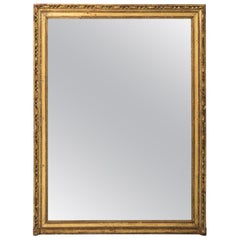 French Gilded Mirror, circa 1850