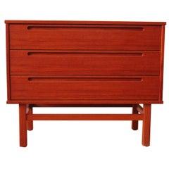 Niils Jonsson Mid Century Modern Vanity Chest Dresser
