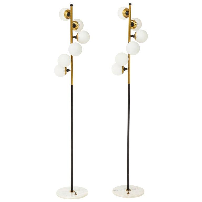Stilnovo Pair of Floor Lamps 1