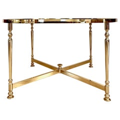 Lysberg, Hansen and Therp Brass Coffee Table, 1970s