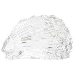 Baccarat Crystal Porcupine, Signed, France
