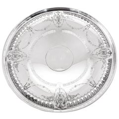 Sterling Cake Plate