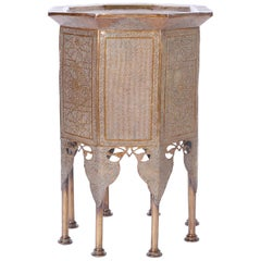 Syrian Brass Stand or Table