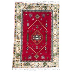 Beautiful 20th Century Moroccan Rabat Rug