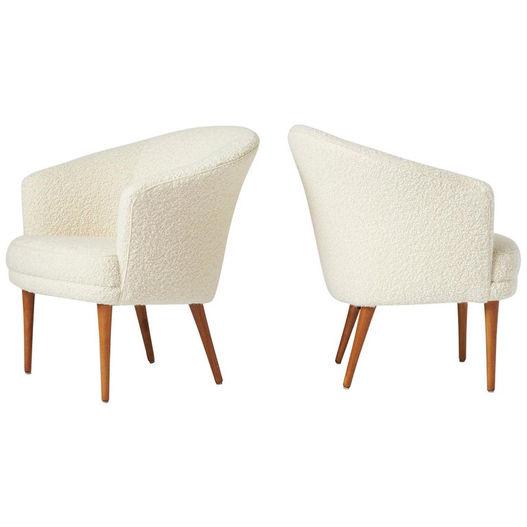 Pair of Chairs by Kerstin Horlin Holmquist for Norkiska Kompaniet For Sale
