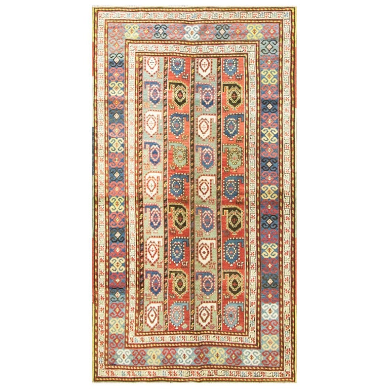 Kazak Antique Caucasian Rug 1