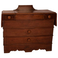 American Black Walnut Dry Sink, Southern Atlantic States, circa 1830