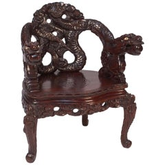 Dragon Armchair, Japan, circa 1900