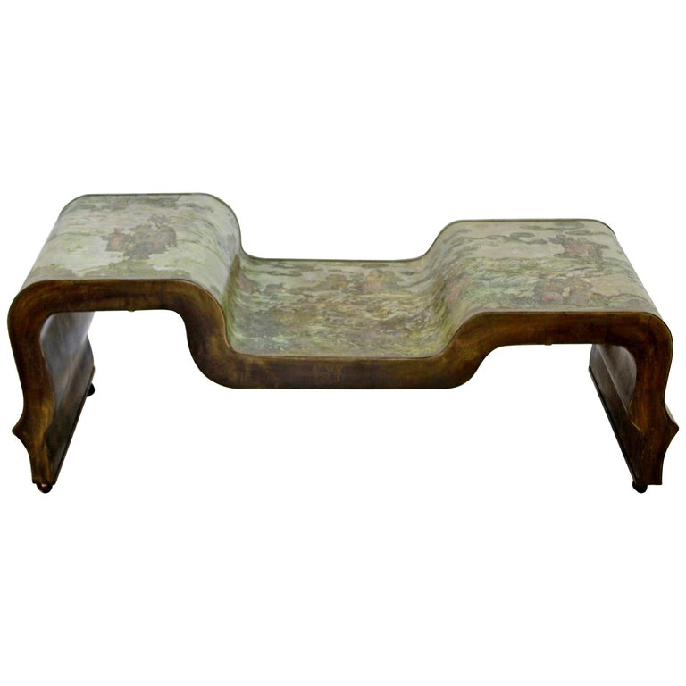 Mid-Century Modern Extremely Rare and Important Table by Philip Kelvin Laverne For Sale
