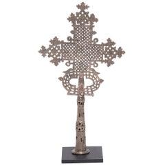 Äthiopisches koptische Prozession Kreuz