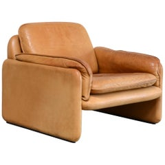 De Sede DS 61 Leather Chair Cognac