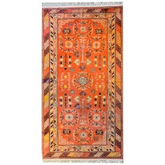 Wonderful Early 20th Century Central Asian Khotan Rug