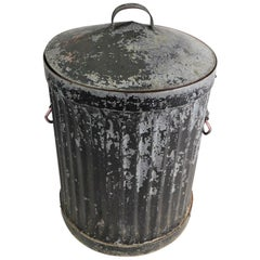 Industrial Trash Garbage Can with Lid