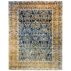 Unbelievable Early 20th Century Lavar Kirman Rug
