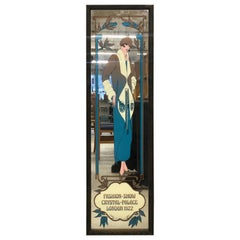 Art Nouveau Mirror Fashion Show Crystal-Palace London 1922