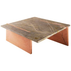 Inlay Marble Coffee Table, Nick Ross