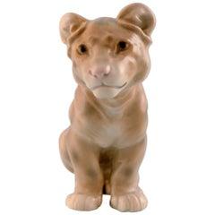 Rare B&G, Bing & Grondahl Figure, lion cub, Decoration Number 1923