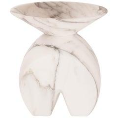 Iris, Marble Contemporary Vase, Valentina Cameranesi