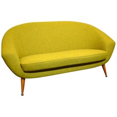 Folke Jansson Tellus Sofa, 1950s, Produced by SM Wincrantz in Sweden