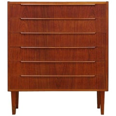 Teak Chest of Drawers Vintage 1960-1970 Danish Design
