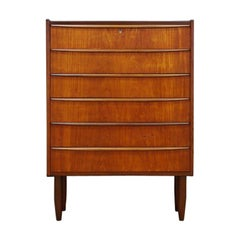 Chest of Drawers Teak Vintage Danish Design, 1960-1970