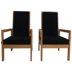 Two Armchairs by André Sornay, circa 1950