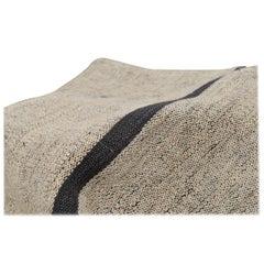 Anatolia Grey Kilim, Flat-Woven Rug