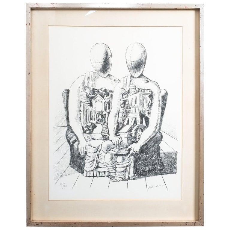 "Giorgio De Chirico Lithographie ""Gli Archeologico"", 1970 1"