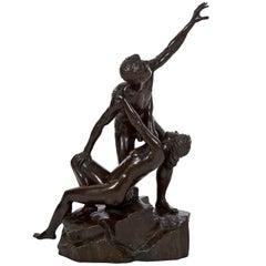Antique Art Deco Bronze Sculpture by Else Fürst, (German, 1878-1943)