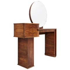 Italian Midcentury Vanity Desk, 1930s