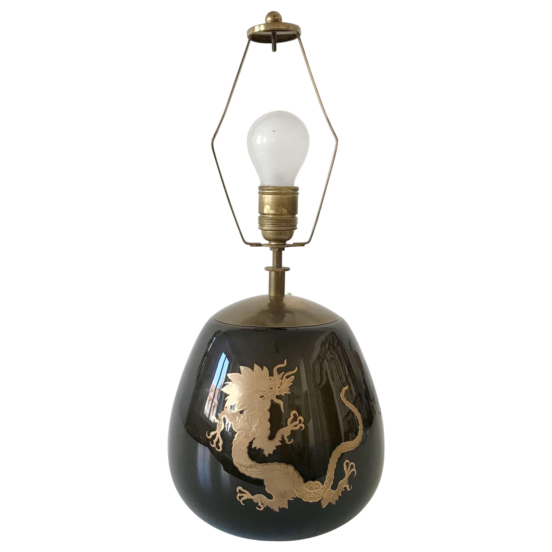 Art Deco WMF Ikora Table Lamp in the Style of Paul Haustein School, 1930s