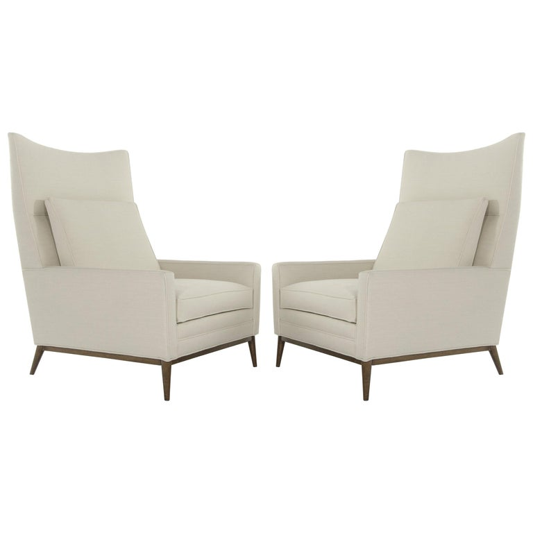 Pair of Reading Lounges by Paul McCobb For Sale