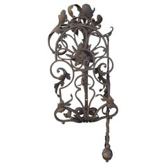 Late 19th-Early 20th Century Continental Handmade Iron Bell