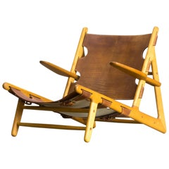 Børge Mogensen 'Hunting' Chair, Model 2229 for Fredericia Stolefabrik