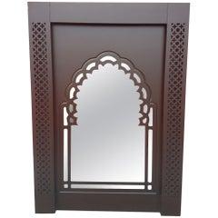 Moroccan Contemporary Wooden Mirror Frame