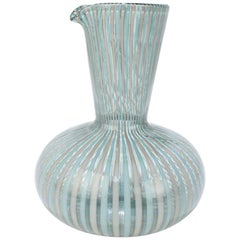 'A Canne' Glass Carafe by Gio Ponti for Venini Glass