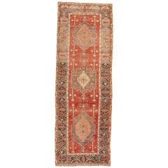1900er Jahre türkische anatolische Läufer Teppich