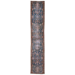 Antique Shabby Chic Malayer Runner