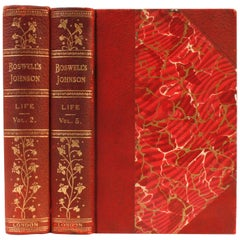 The Life of Johnson by James Boswell, Esq., Two Limited Editions