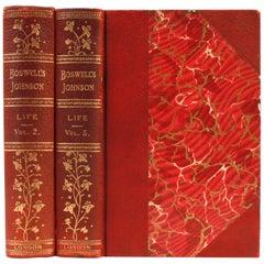Das Leben von Johnson von James Boswell, zwei Limited Editions