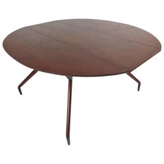 Midcentury Greta Grossman Drop Leaf Dining Table for Glenn of California