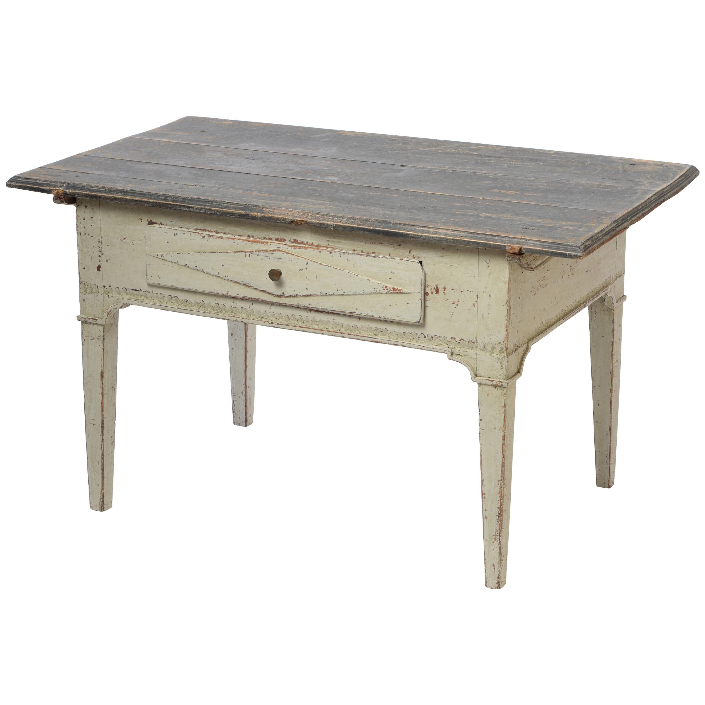18th Century Gustavian Low Table