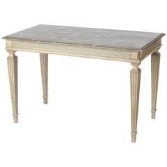 19th Century French Console Table in the Style of Louis XVI