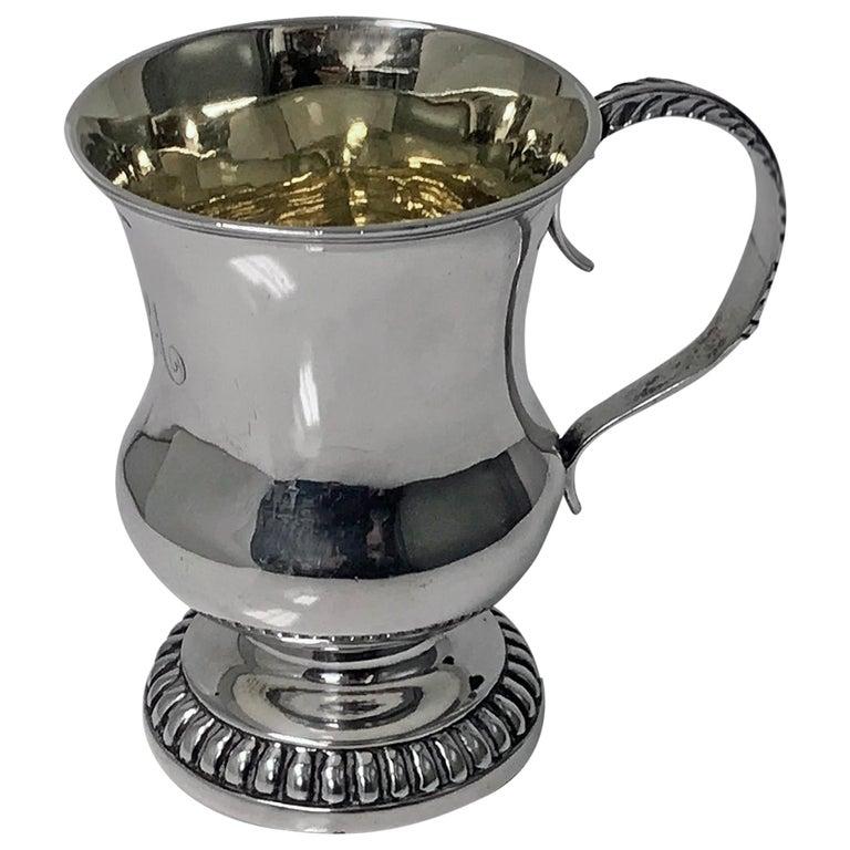Scottish Aberdeen Georgian Silver Mug Tankard, George Booth, circa 1810-1820 For Sale