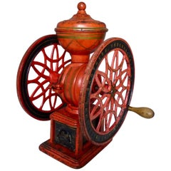 1880s Coffee Grinder by Swift Mill Lane Bros