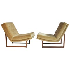 Milo Baughman Slipper Chairs
