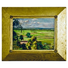 "Thomas Pollack Anshutz ""Pennsylvania Landscape"""