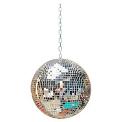 1960s Glass Disco Ball